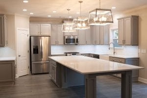 iTrust kitchen renovation with Smart Lighting and Smart Switches