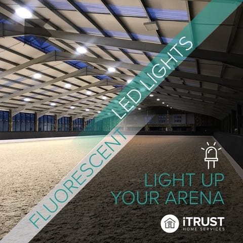 LED Lighting for Riding Arenas and Horse Farms